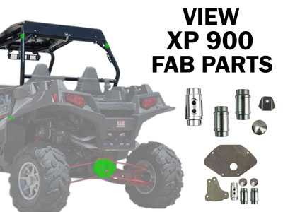 Polaris RZR XP 900 Fabrication Parts