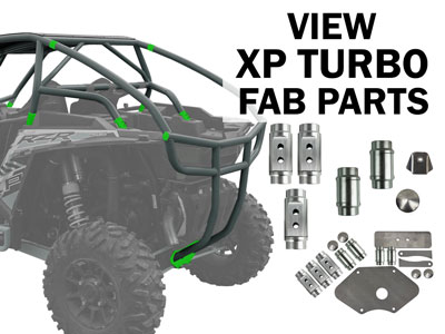 Polaris RZR XP Turbo Fabrication Parts