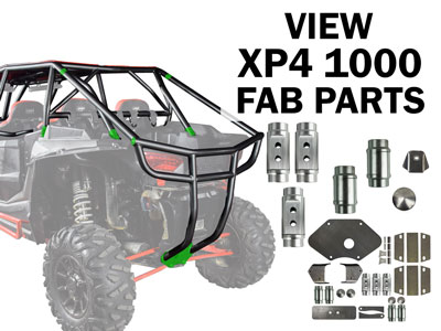 Polaris RZR Fabrication Parts and Cage Builder Kits