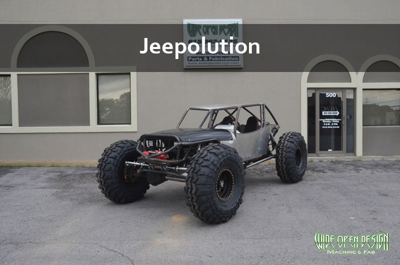Jeepolution Rock Bouncer Rock Crawler Buggy