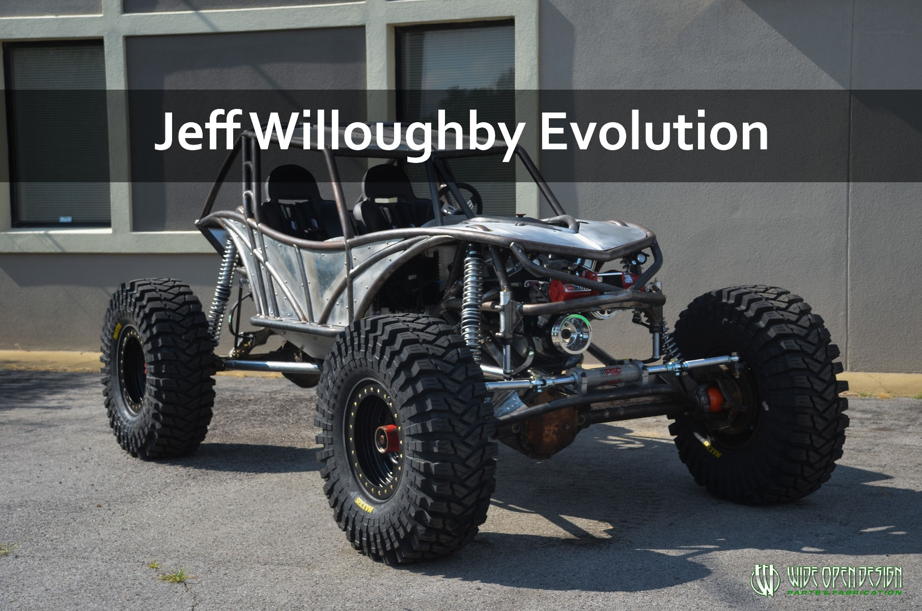 Wiloughbuy Evolution Rock Bouncer Rock Crawler Buggy