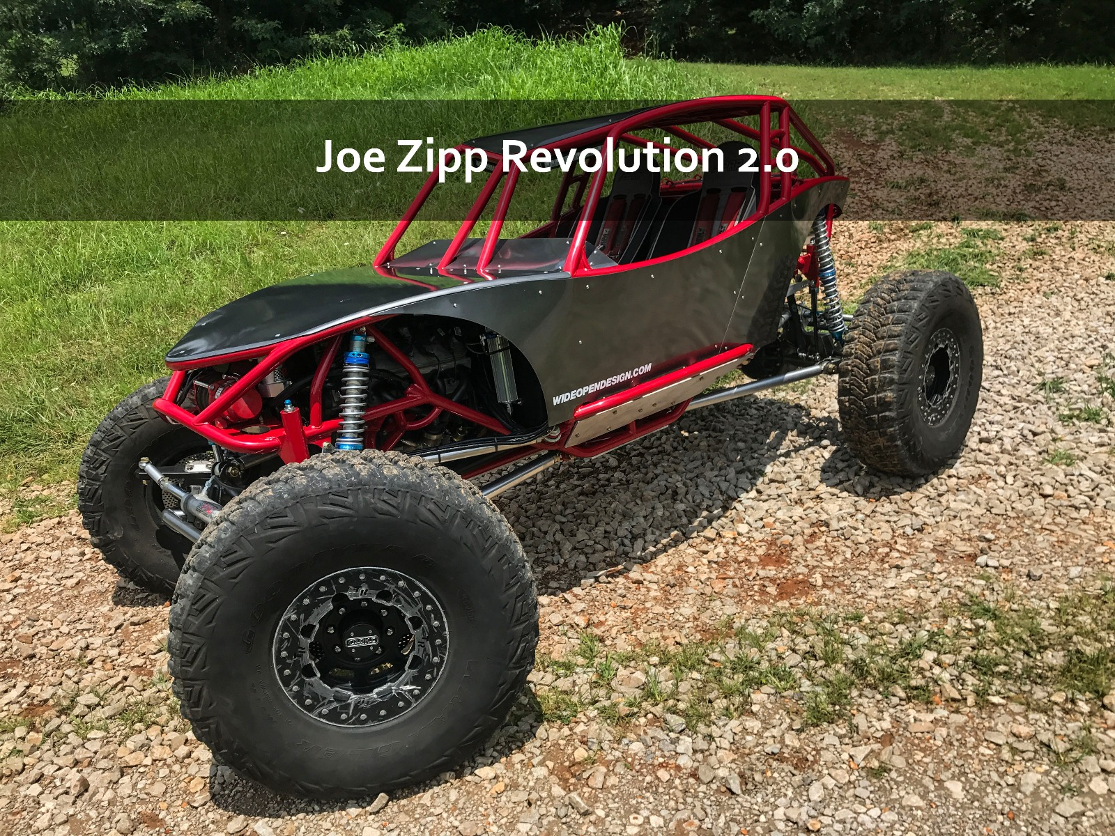 Revolution 2.0 Rock Crawler Joe Zipp Buggy
