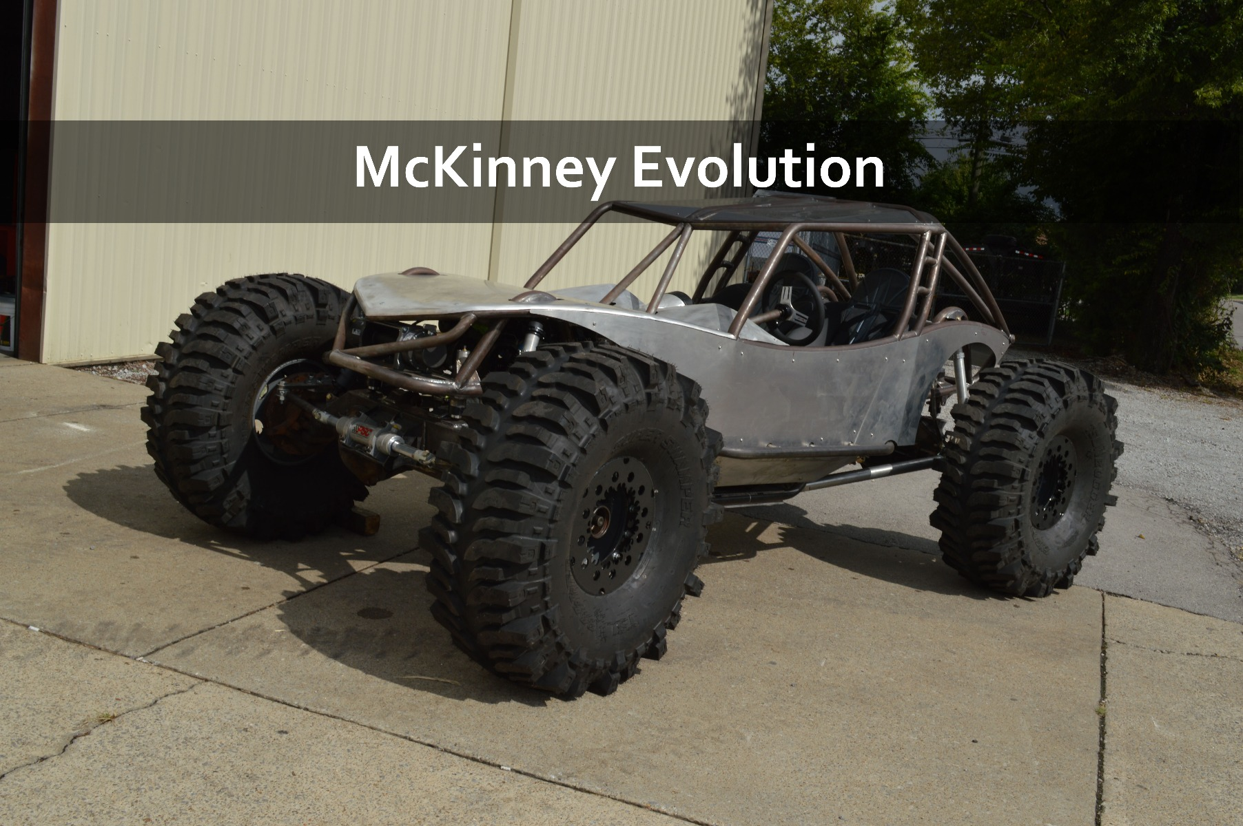 McKinney Evolution Rock Bouncer Rock Crawler Buggy