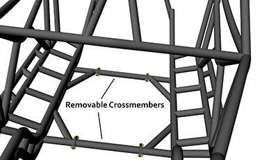 RB Removable Crossmembers