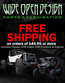 Rock Crawler and RZR Superstore - Wide Open Design
